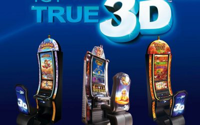 The IGT 3D video slot machines have arrived at the Las Vegas Casinos!