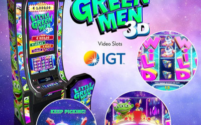 IGT TRUE 3D™ slot machines have arrived at the Las Vegas Casinos!