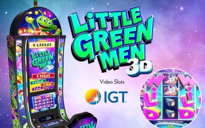 Próbálja ki az IGT új, 3D-s élményt kínáló pénznyerő automatáit!