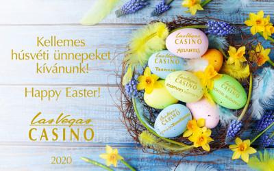 Kellemes Húsvéti ünnepeket kíván a Las Vegas Casinok csapata!