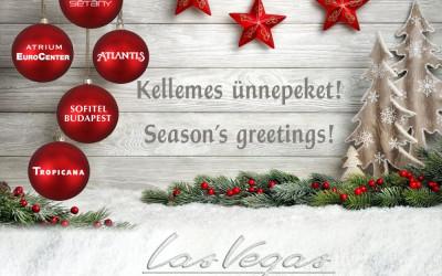 Kellemes ünnepeket kívánunk minden kedves vendégünknek!