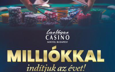 Indítsd milliókkal az évet a Las Vegas Casino Sofitelben!