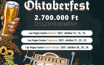 Oktoberfest a Las Vegas kaszinókban
